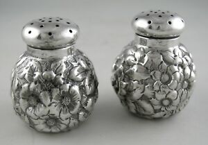 Sterling-Shiebler-REPOUSSE-salt-and-pepper-shakers-serial-1182-Ca-1900