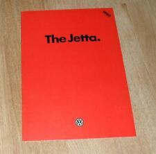 Volkswagen VW Jetta Brochure 1980 -1.3 1.5 1.6 GLi