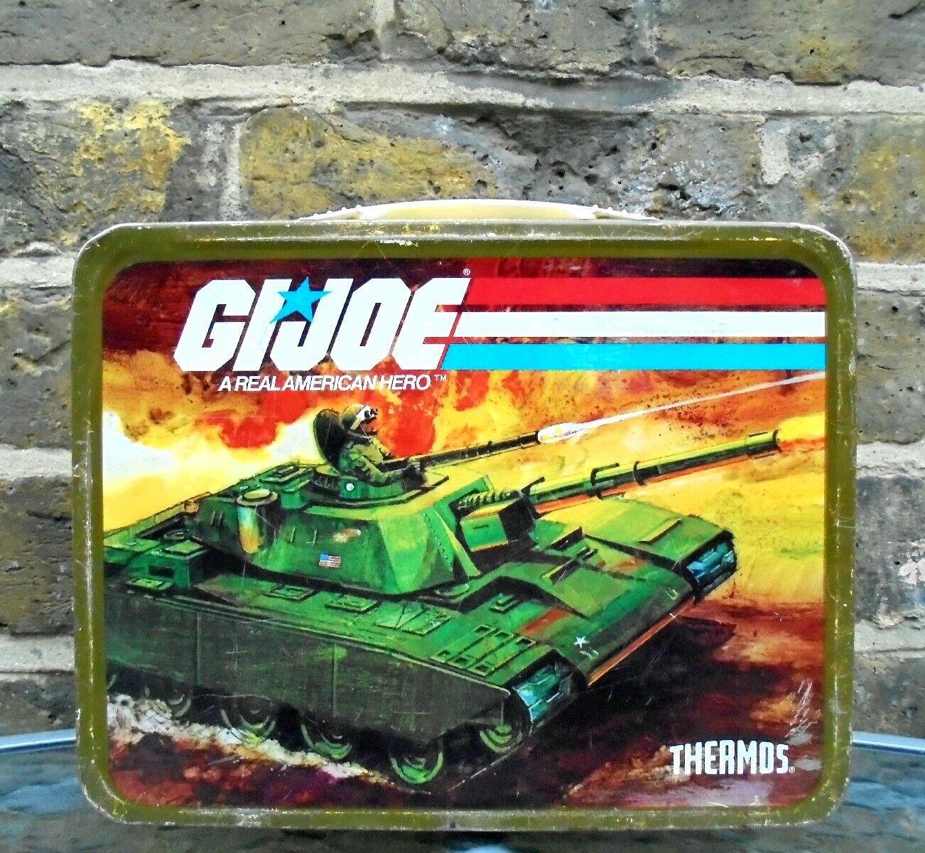 G.I JOE 1982  American Hero Metal Lunchbox  économiser sur le dédouanement