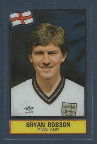 PANINI FOOTBALL SUPERSTARS 1984 ENGLAND /& MANCHESTER UNITED-BRYAN ROBSON