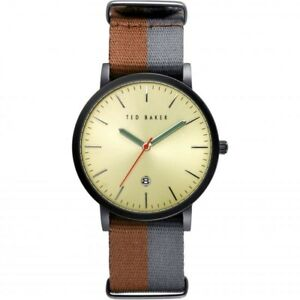 cd2d9e3ee66 Image is loading Ted-Baker-Gents-Multicoloured-Watch-TE10026448-NEW