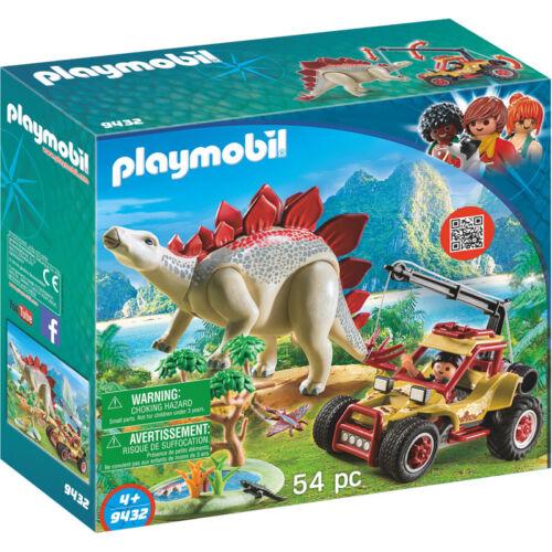 Playmobil The Explorers Explorer Vehicle with Stegosaurus 9432 NEW