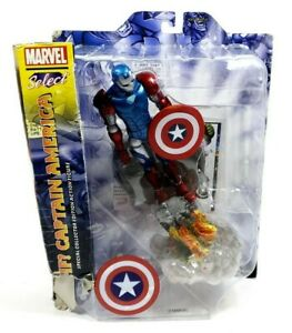 Marvel-SELECT-WHAT-IF-Iron-Man-8-034-Actionfigur-Diamond-Select-Toys