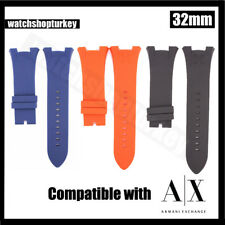 b53ee06fd0e item 6 NEW Black Silicone Rubber Diver Watch Strap Band For Armani Exchange  Cheapest -NEW Black Silicone Rubber Diver Watch Strap Band For Armani  Exchange ...