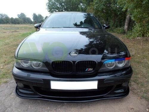 BMW 5 eyebrows headlight brows tuning trims ABS PLASTIC E39