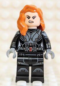 LEGO Minifigure BLACK WIDOW printed arms - Marvel Avengers ...