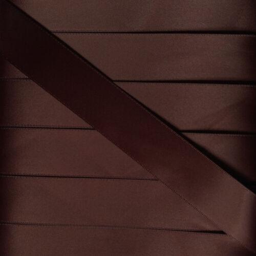 """Double face ruban satin 25 mm 1/"""" Qualité Premium Bows ** Réduit à Transparent **"""