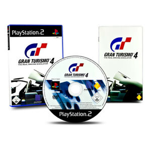 Playstation-2-PS2-Jeu-Gran-Turismo-4-IN-Emballage-D-039-Origine-avec-Instructions