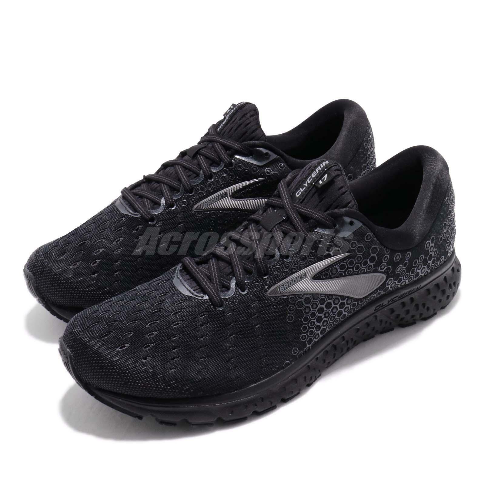 Brooks  Glycerin 17 2E Wide nero Ebony Men Running scarpe scarpe da ginnastica 110296 2E  nuovo stile