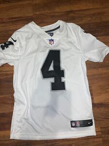 Nike VAPOR Derek Carr Oakland Raiders NFL Jersey Mens Small Jersey ...