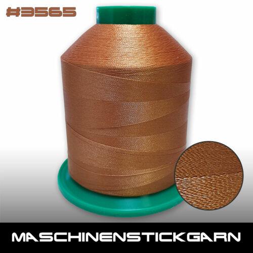 Garn für Stickmaschinen Maschinenstickgarn Ariadna Iris Farbton 3565-5000m