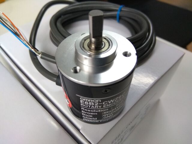 1x OMRON 100P Incremental Rotary Encoder 100p//r 12~24V DC E6B2-CWZ5B PNP