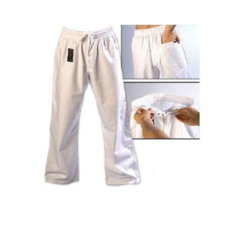 ProForce Combat Karate PANTS SALE Martial Arts Taekwondo Training Uniform WHITE