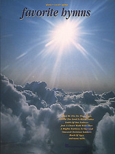 """""""FAVORITE HYMNS"""" PIANO/VOCAL/GUITAR MUSIC BOOK-BRAND NEW ON SALE SONGBOOK!!"""