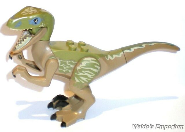 Lego Jurassic World Dinosaur DELTA the RAPTOR, from set 75917, New