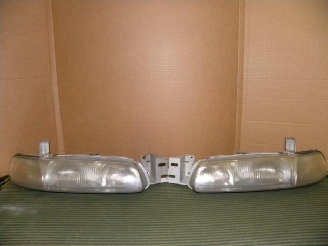 Headlights - Left and Right - Mazda 626 - 1995