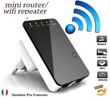 Répéteur Wifi 300 Mbps AP Wireless N amplificateur extension  Routeur hotspot