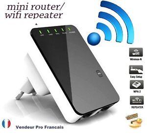300Mbps WiFi Sans fil Routeur Wireless-N Repeteur Amplificateur Expander EU Plug