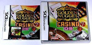 NINTENDO-DS-SPIEL-034-GOLDEN-NUGGET-CASINO-034-KOMPLETT
