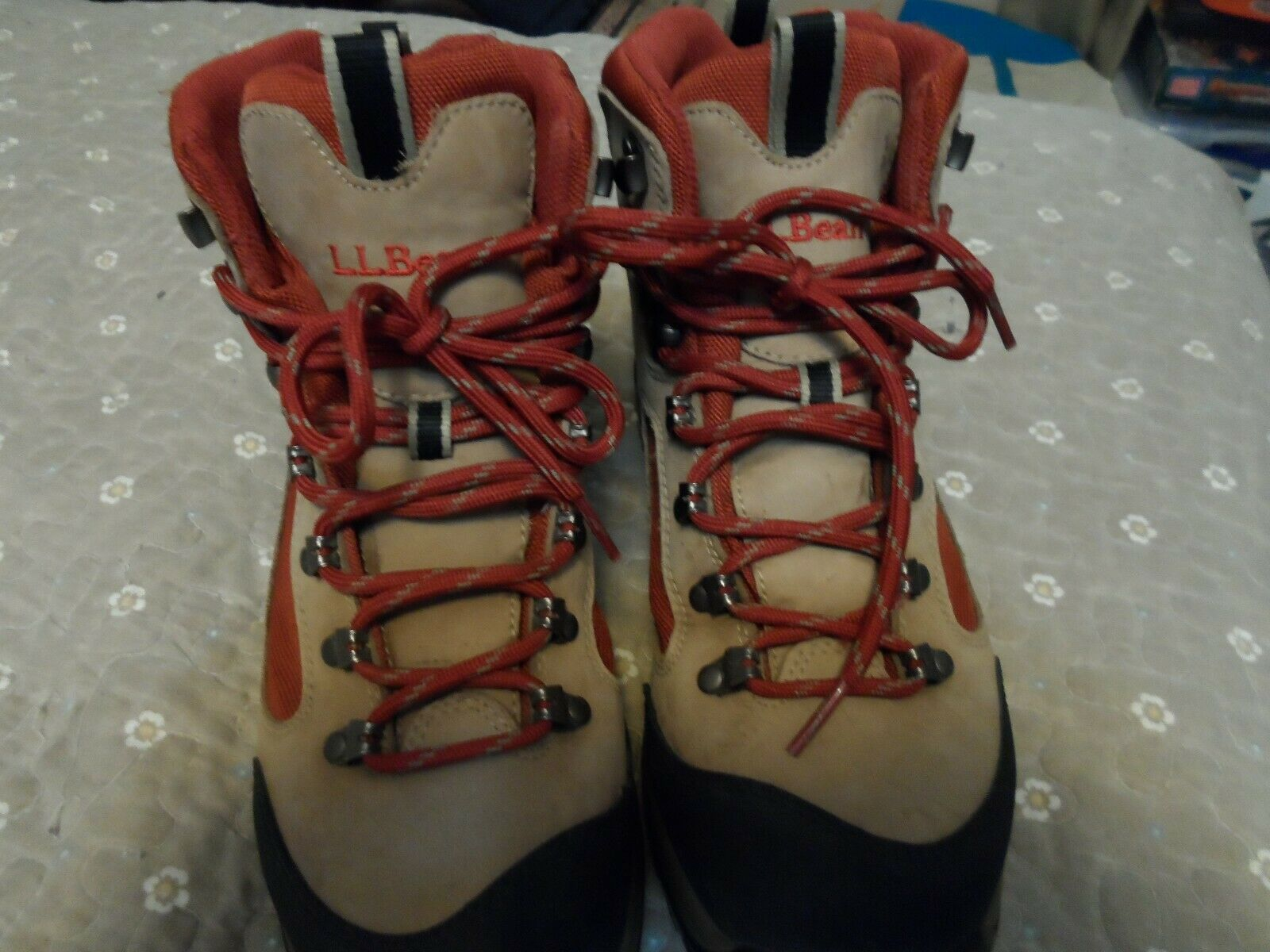 LL Bean  Women's Goretex Hiking Boots Size 8  discount promotions