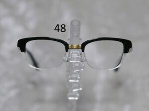 1/3 1/4 BJD SD 60cm 45 eye glasses eyeglasses Dollfie Black clear lens Style 48