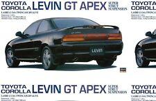 Hasegawa 1/24 Toyota Corolla Levin GT Apex w Super Strut Susp. #20254 *sealed*