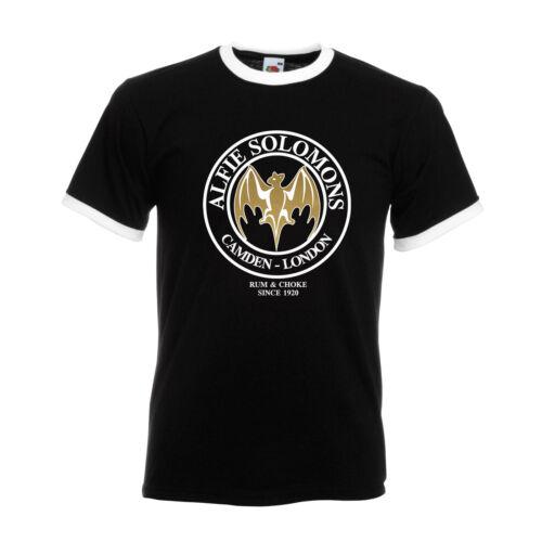 Peaky Blinders T-Shirt Alfie Solomons Rum /& Choke Tee TV BBC Shelby Tom Hardy