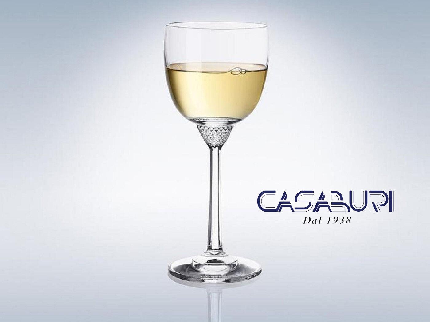 Villeroy & Boch OCTAVIE Set 6 Calici Vino Bianco Cristallo 186 mm,0.23 l