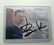 RARE CHARMED AUTOGRAPHED SIGNED TRADING CARD A5 BRIAN KRAUSE AS LEO WYATT