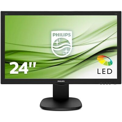 "Philips 243S5LHMB/00  EEK A 59.9 cm (23.6"") 1920 x 1080 Full HD LED (Monitor)"