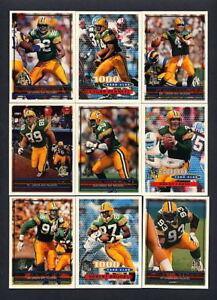 1996-Topps-Green-Bay-Packers-TEAM-SET-Brett-Favre