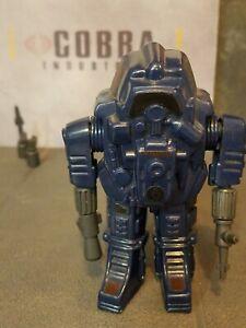 GI JOE~ 1985 COBRA BLUE SNAKE ARMOR ~ 100% COMPLETE & ORIGINAL INSERT S.N.A.K.E.