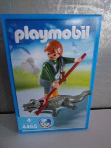 Neu /& OVP Playmobil 4465 Tierpfleger mit Kaiman