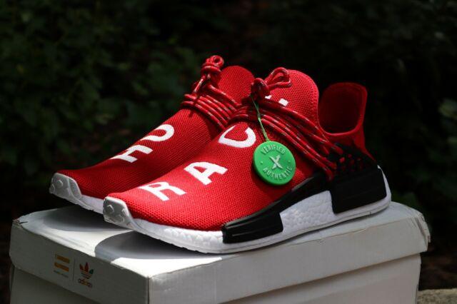 pretty nice a5a80 cd1a3 Adidas NMD Hu Pharrell Human Race Red/Scarlet Size 10 StockX Authentic