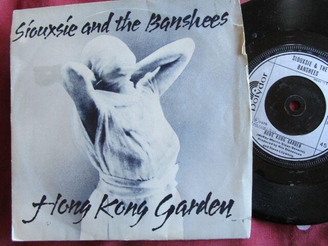 Siouxsie And The Banshees Hong Kong Garden Polydor 2059 052 Vinyl
