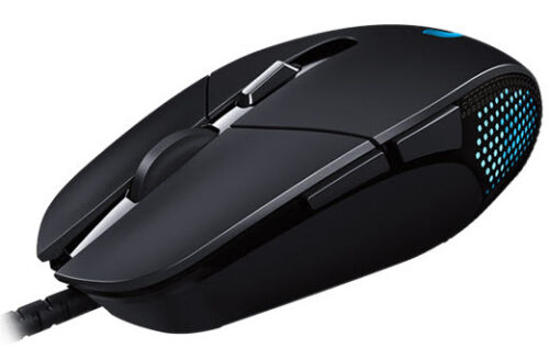 Black 4000DPI 6Buttons G302 DAEDALUS PRIME MOBA Gaming Mouse Logitech USB
