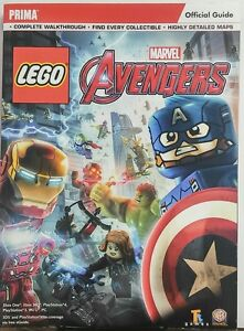 Details about Lego Marvel Avengers Official Guide Complete Walkthrough Maps  FREE SHIPPING sb