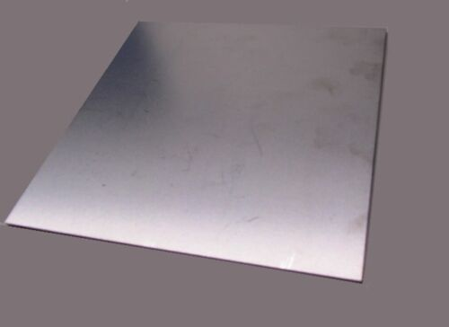 "+//-.0010/"" 301 Stainless Steel Sheet Shim .025/"" x 12.0/"" Width x 12/"" Length"