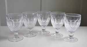 Waterford-Crystal-Cut-Glass-COLLEEN-Short-Stem-Water-Goblet-ONLY-ONE-GOBLET