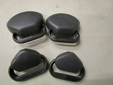 VW MK4 gti black seat belt cover set  r32 20th anniversary oem gti 337 20th