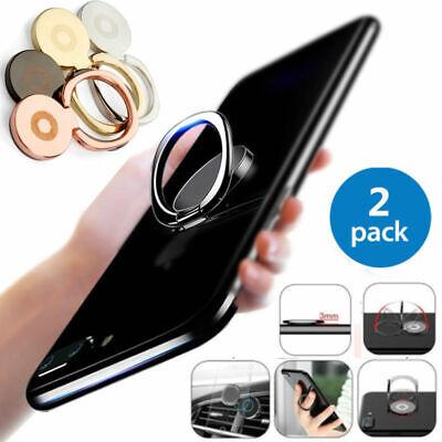 2x handyhalter ring metall 360 rotation handyst nder fingerring f r iphon ebay. Black Bedroom Furniture Sets. Home Design Ideas