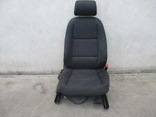 Beifahrersitz Sitz vorne Audi A4 B6 8E Sitze Ausstattung Stoff schwarz SOUL