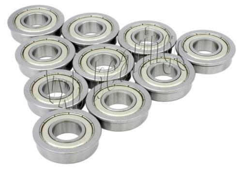 10 Flanged Bearing Lot MF148ZZ 8x14x4 VXB Bearings