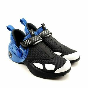 Nike-Air-Jordan-Trunner-LX-OG-Black-White-Blue-Low-Trainer-905222-007-Sz-10