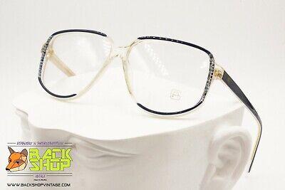 """Alfredo Gabrielli Pl Gabrielli Vintage 80s Eyewear Frame, """"c"""" Decor Frontal, Nos"""