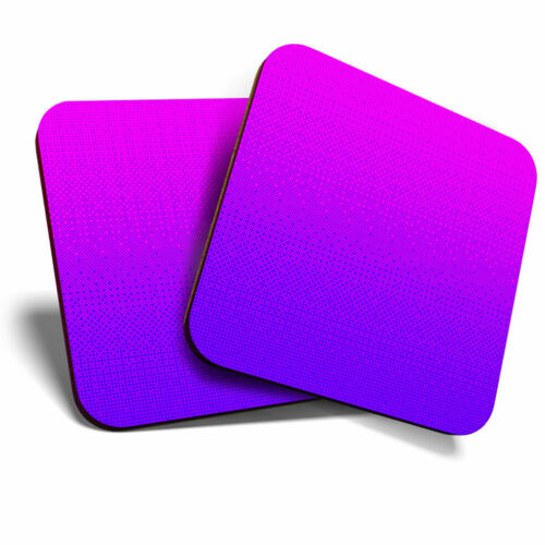 2 x sous-verres-FUN rose violet ombre Filles Accueil Cadeau #12931