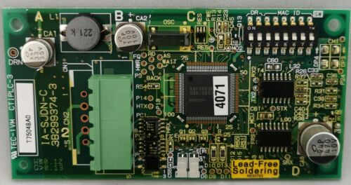 SJDN2 Hitachi DeviceNet Card for SJ300 and S Details about  /NEW SJ-DN2