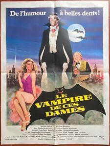 Plakat Le Vampir Von Ces Damen Love At First Bite - George Hamilton 60x80cm 1979