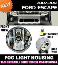 07 08 09 10 11 12 FORD ESCAPE Replacement Fog Light Lense Housing (ONE)