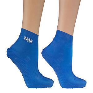 CHEX-Swim-Socks-Anti-Verruca-100-Latex-Blue-Girls-Boys-10-11-12-13-1-2-amp-3-5